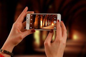 filmen met iPhone