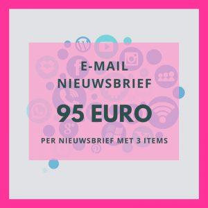 95 euro nieuwsbrief e-mail